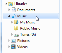Windows 7's Libraries