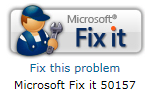 Microsoft's Fix It button automatically repairs specific problems with your computer.