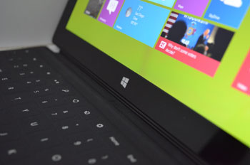 Windows 8 works best on a touchscreen, be it a tablet, touchscreen laptop, or touchscreen monitor on a desktop PC.