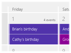 Removing Facebook birthdays from the Calendar view