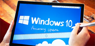 Windows 10's Anniversary Update changes Windows 10 in several ways.