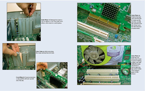 Upgrading and Fixing PCs 7th Edition includes 16 pages of detailed full-color photos.
