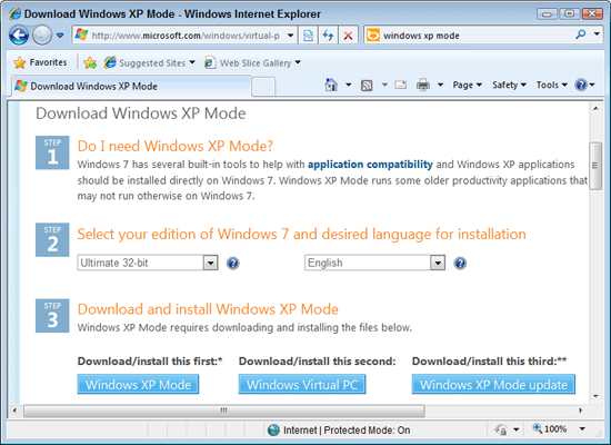 """Andy Rathbone » Setting up """"Windows XP mode"""" in Windows 7"""