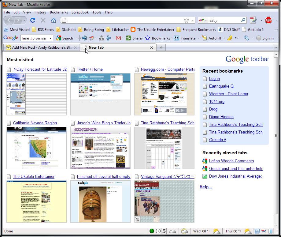 Andy Rathbone » My browser\u0027s thumbnails disappeared from the new tab