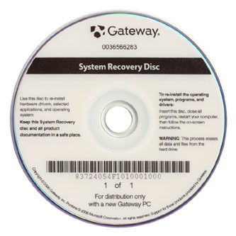 using windows 7 recovery disk