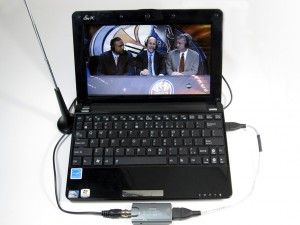 Once you've connected your new tuner to a signal and set up Media Center, you can watch TV on your computer.