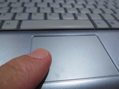 Change your touchpad settings to keep it from opening items automatically.