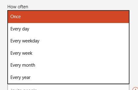 andy rathbone how do i add recurring birthdays into the calendar app