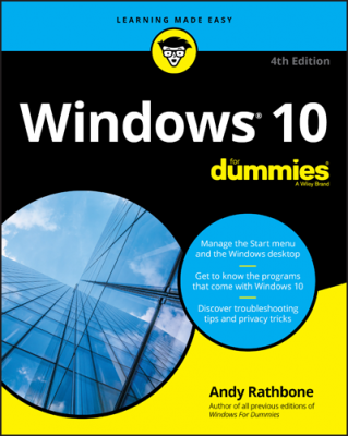 Windows 10 For Dummies, 4th Edition